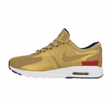 Nike WMNS Air Max Zero QS Metallic Gold/Varsity Red-White