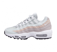 Nike Women's Air Max 95 Light Silver/White-Moon Particle