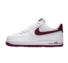 buy online 940e6 c87fa Nike Women s Air Force 1  07 White Bordeaux