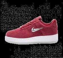 Nike Women's Air Force 1 '07 Premium LX Team Red/Metallic Silver-White