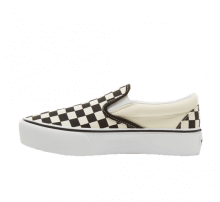 Vans Classic Slip-On Platform Checkerboard Black/White