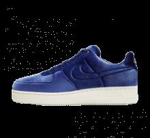 Nike Air Force 1 '07 Premium Velvet Blue Void/Sail-Metallic Gold