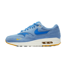 Nike Air Max 1 Premium Mini Swoosh Work Blue/Mountain Blue/Yellow Ochre