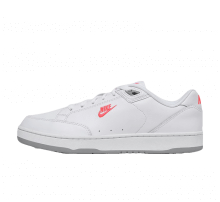 Nike Grandstand II Premium White/Solar Red-Wolf Grey