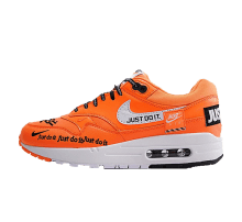 Nike Women's Air Max 1 LUX Just Do It Total Orange/White-Black