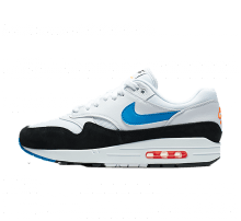 timeless design 8b76d c3888 Nike Air Max 1 White Photo Blue-total Orange