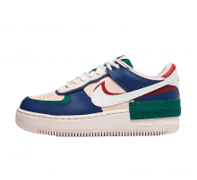 Nike Women's Air Force 1 Shadow Mystic Navy/White-Echo Pink