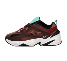 Nike Women's M2K Tekno Mahogany Mink/Black-Burnt Orange