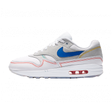 Nike Air Max 1 By Day Pure Platinum/Royal Blue-White