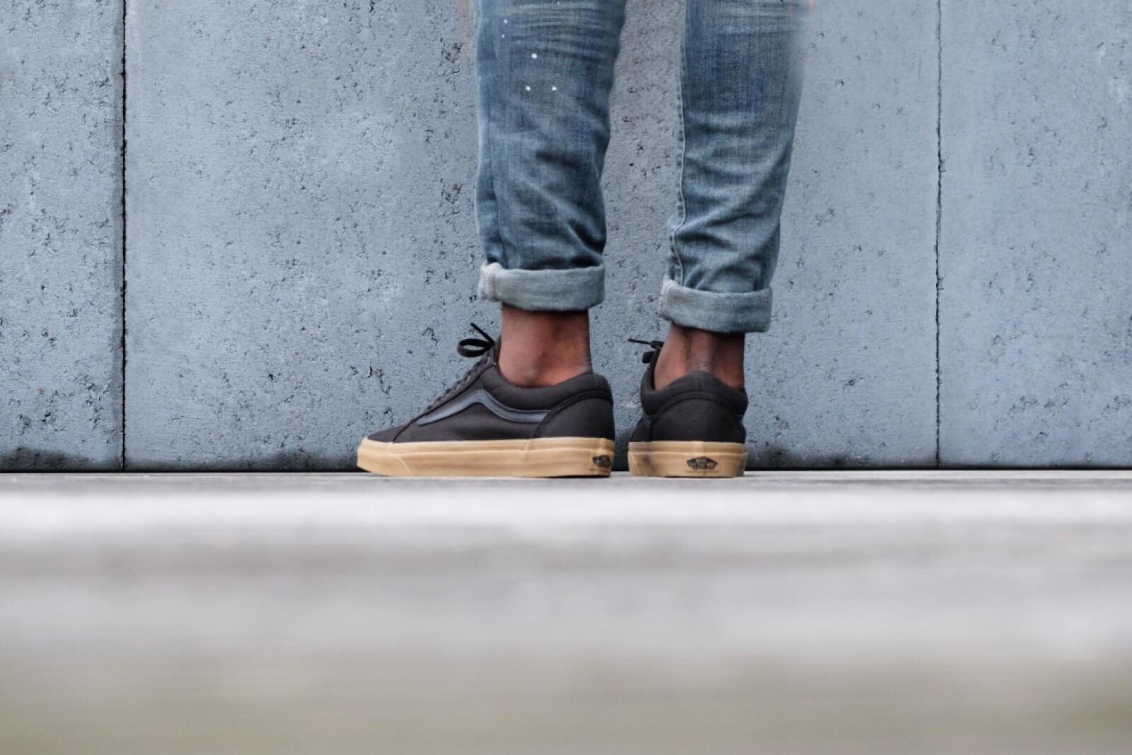 Chaussures Light Gum Old Skool | Noir | Vans