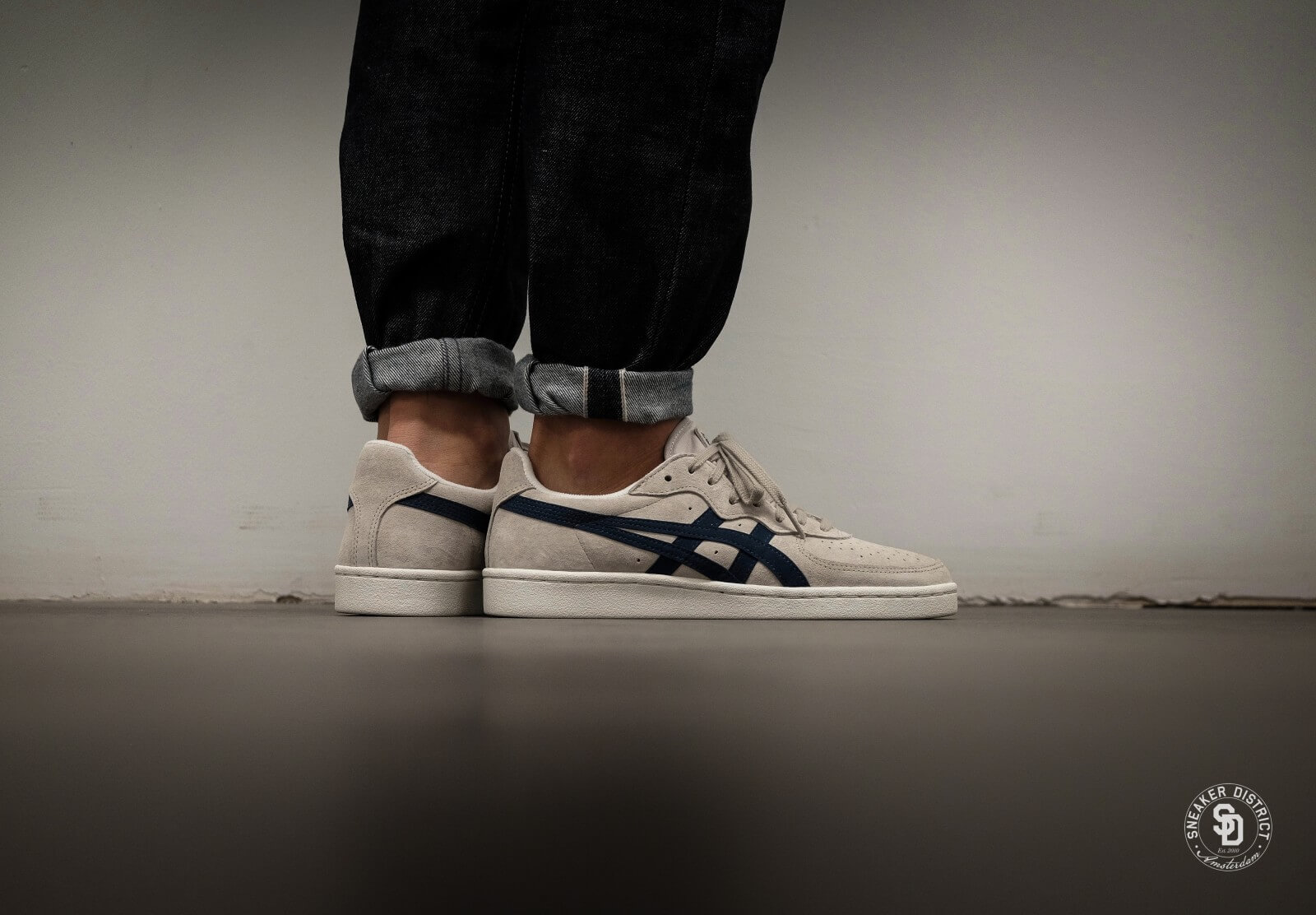 1249 Asics D5K1L GreyBlue GSM Feather wq7Ov