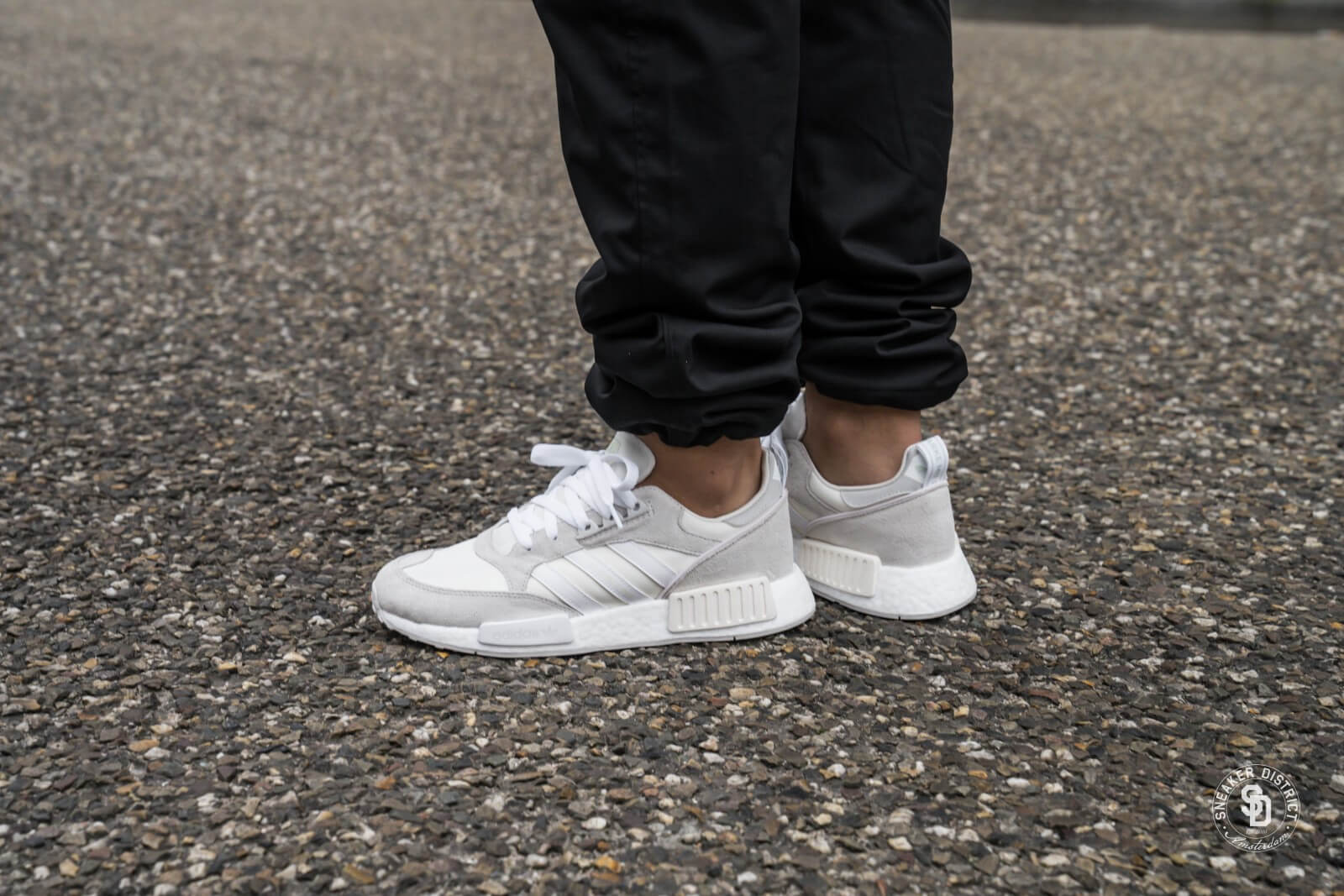 Adidas Boston x Super R1 Cloud WhiteFootwear White One Grey G27834