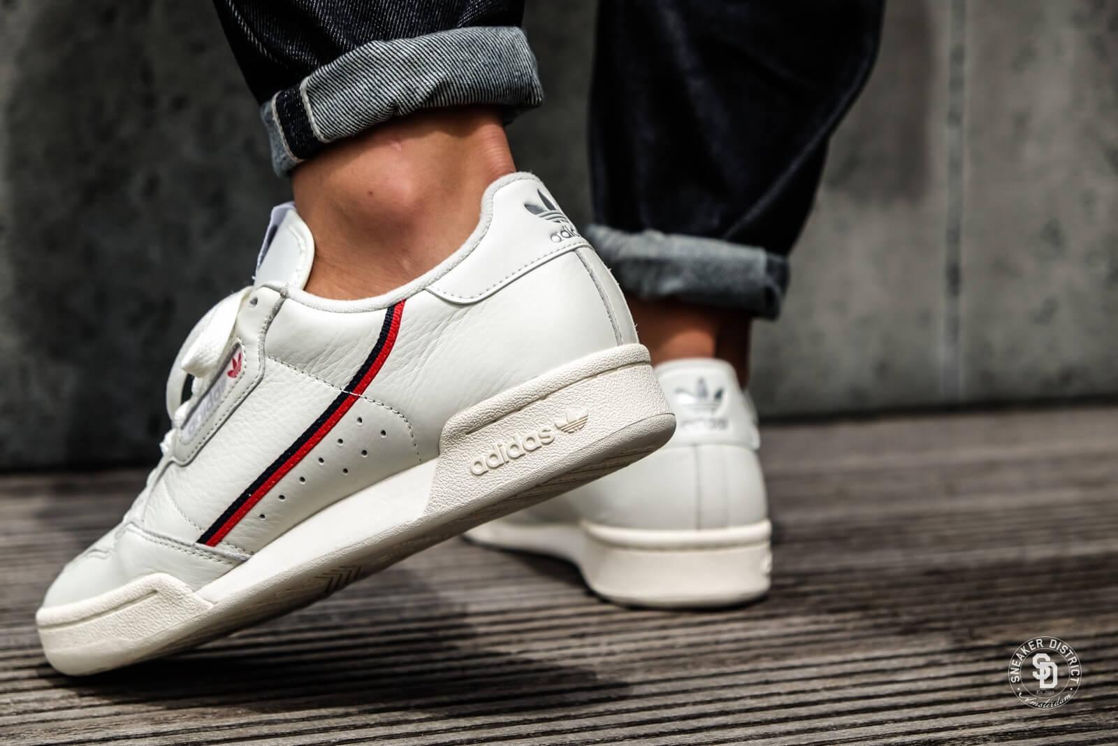 Adidas Continental 80 BeigeOff White B41680