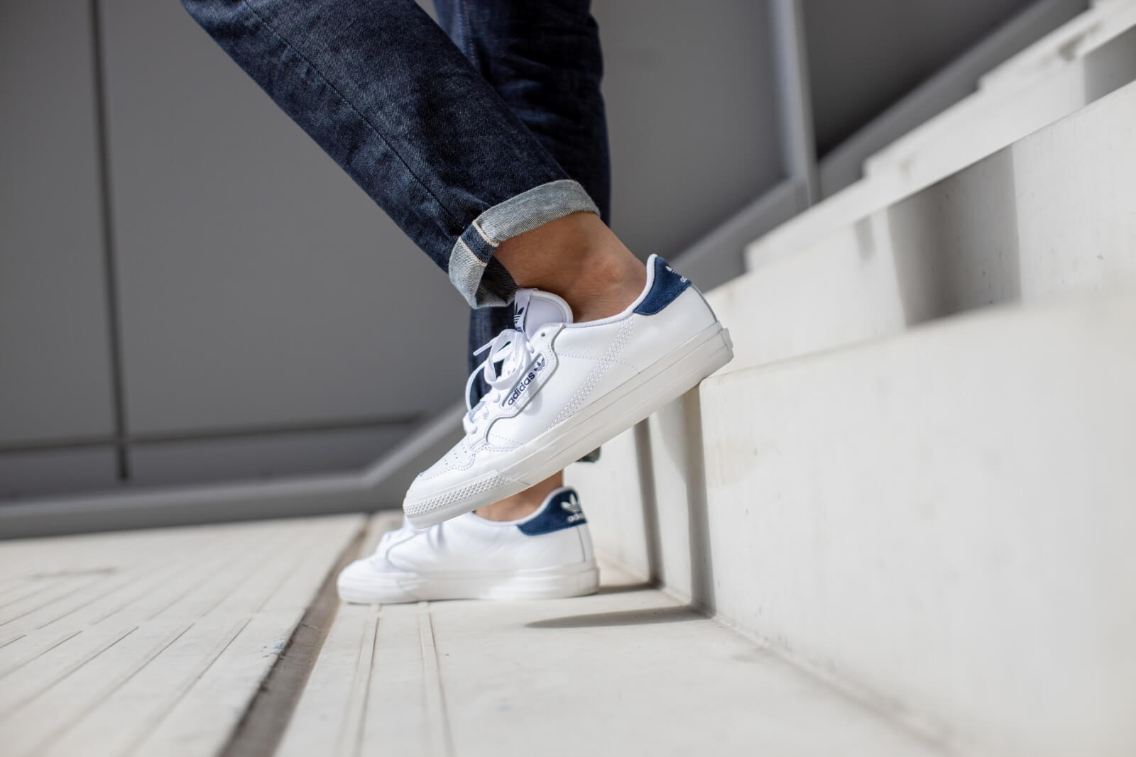 Adidas Continental Vulc Footwear WhiteCollegiate Navy EG4588