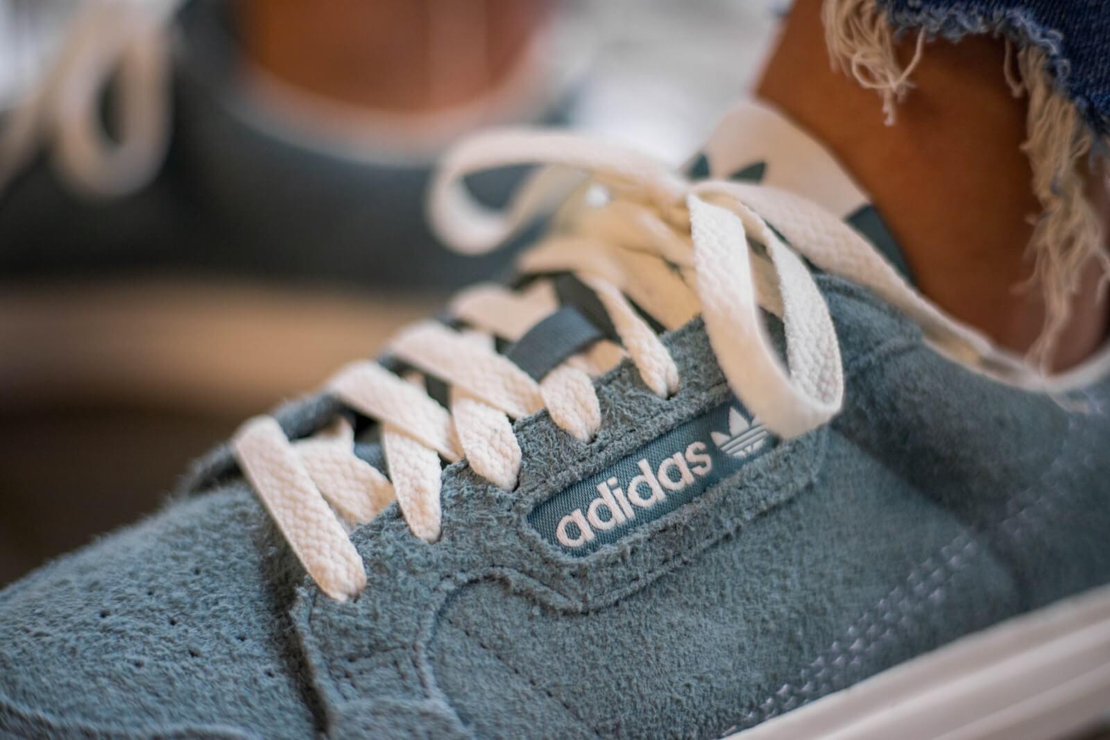 Adidas Continental Vulc Raw Green/Off White