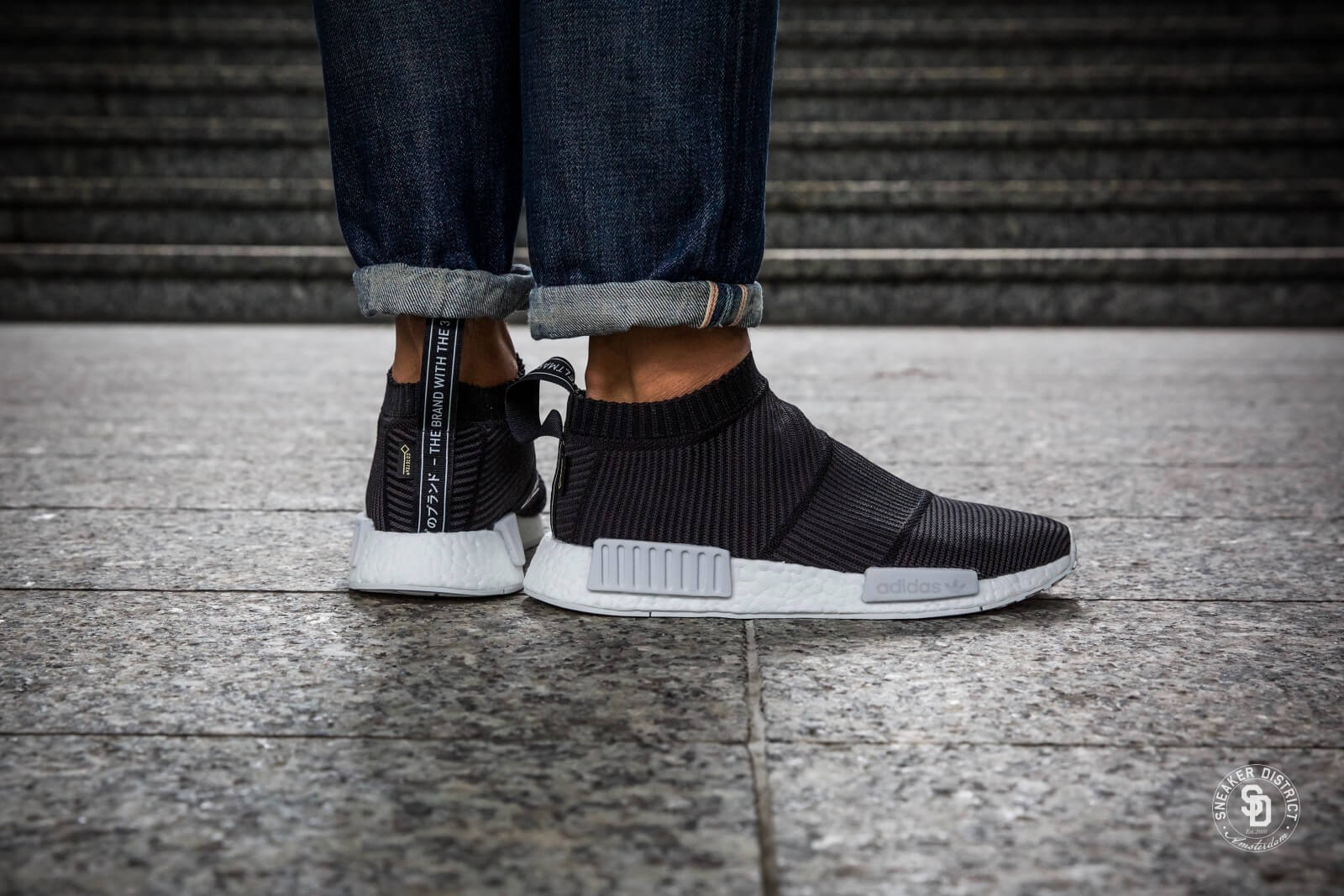 Adidas NMD CS1 Gore-Tex Core Black/White
