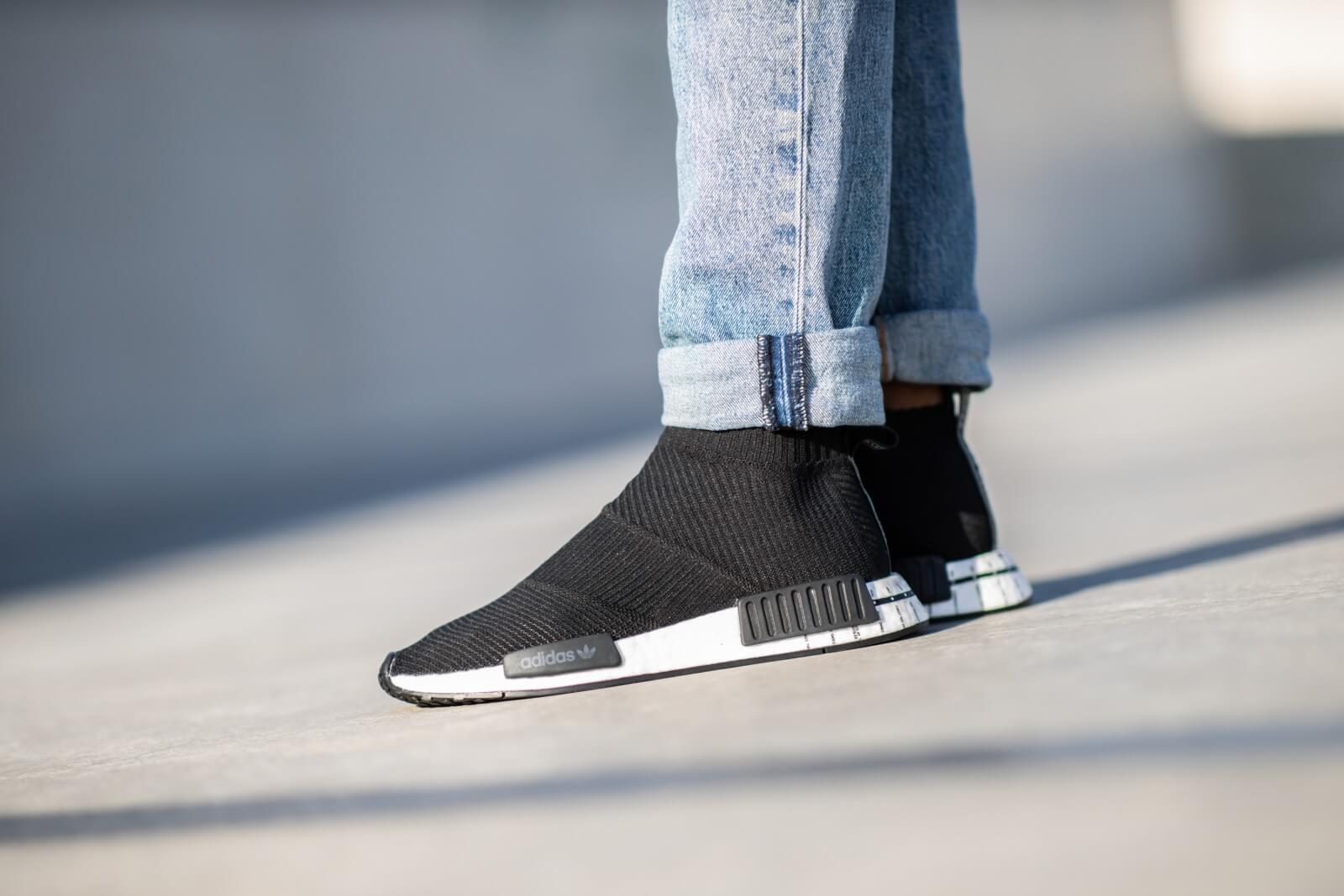 Adidas NMD City Sock 1 Primeknit BlackWhite BD7733