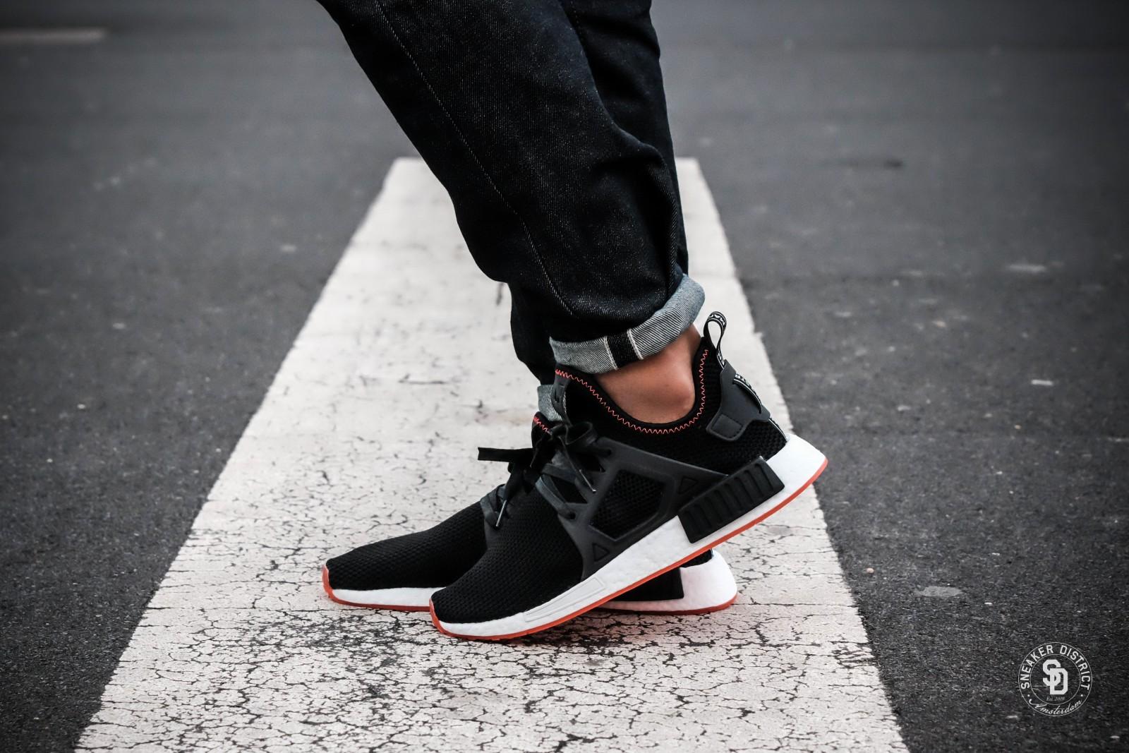 Adidas NMD XR1 Core BlackSolar Red BY9924