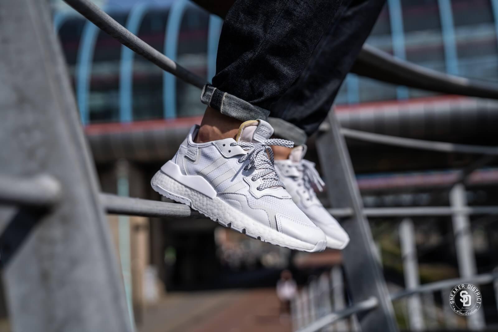 Adidas Nite Jogger Cloud WhiteCrystal White BD7676