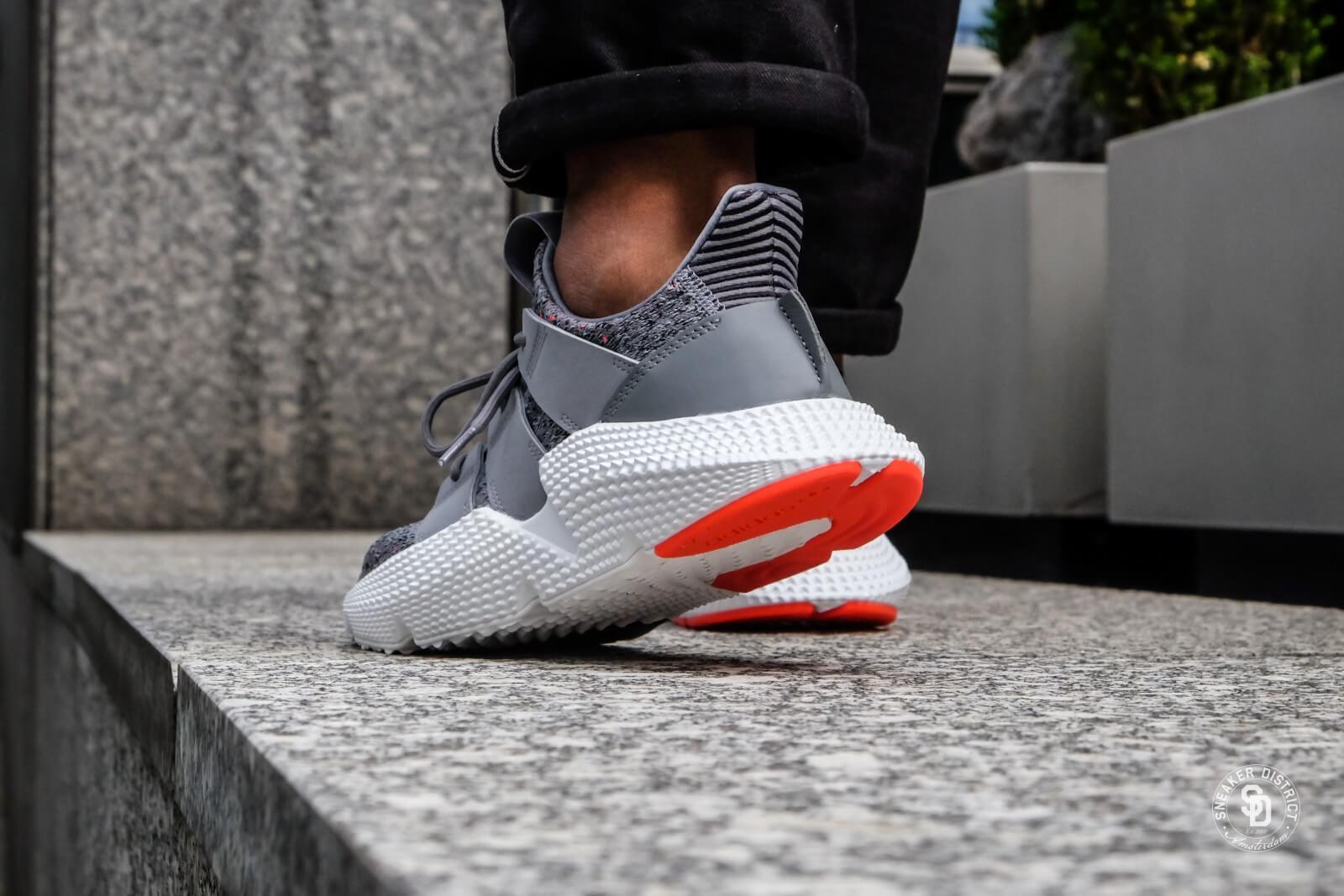 Adidas Prophere Grey ThreeFootwear WhiteSolar Red CQ3023