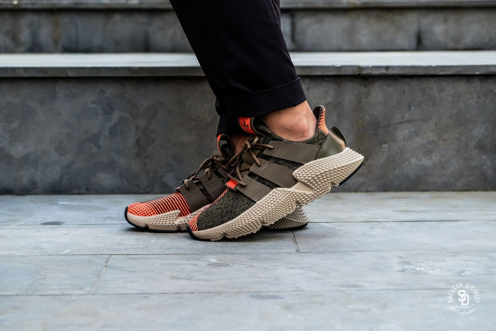 Adidas Prophere Trace OliveSolar Red CQ2127