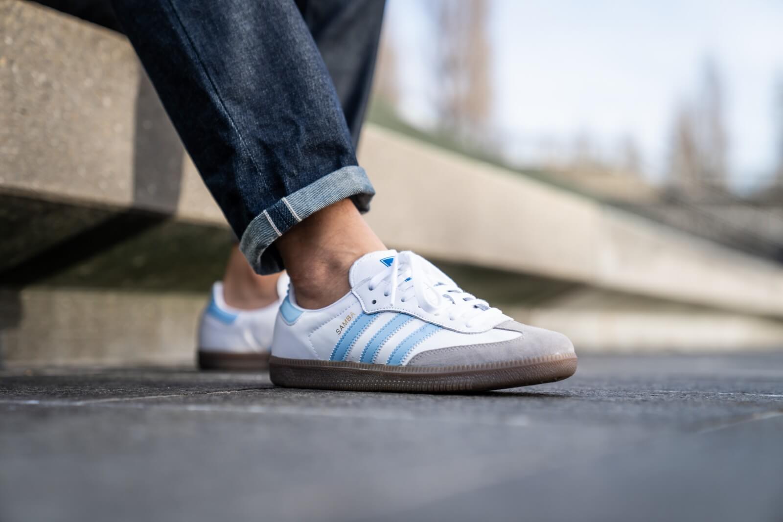 Adidas Samba OG Footwear WhiteClear Sky Clear Granite EG9327