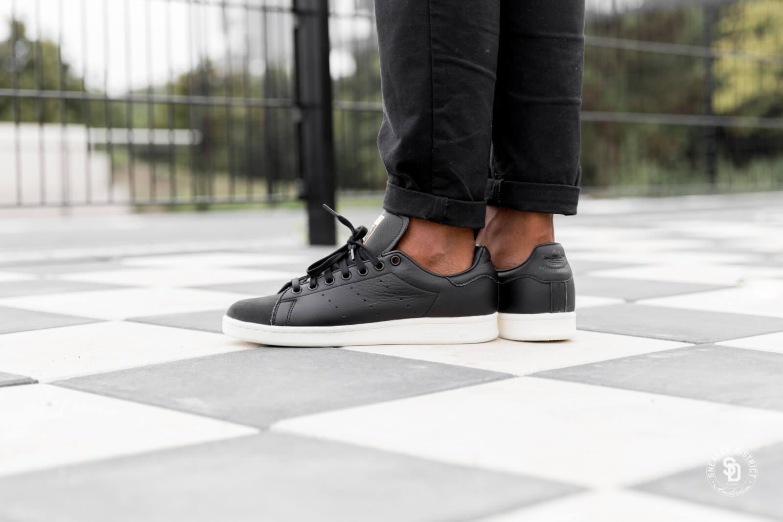 Adidas Stan Smith Premium Core BlackGold Metallic B37901