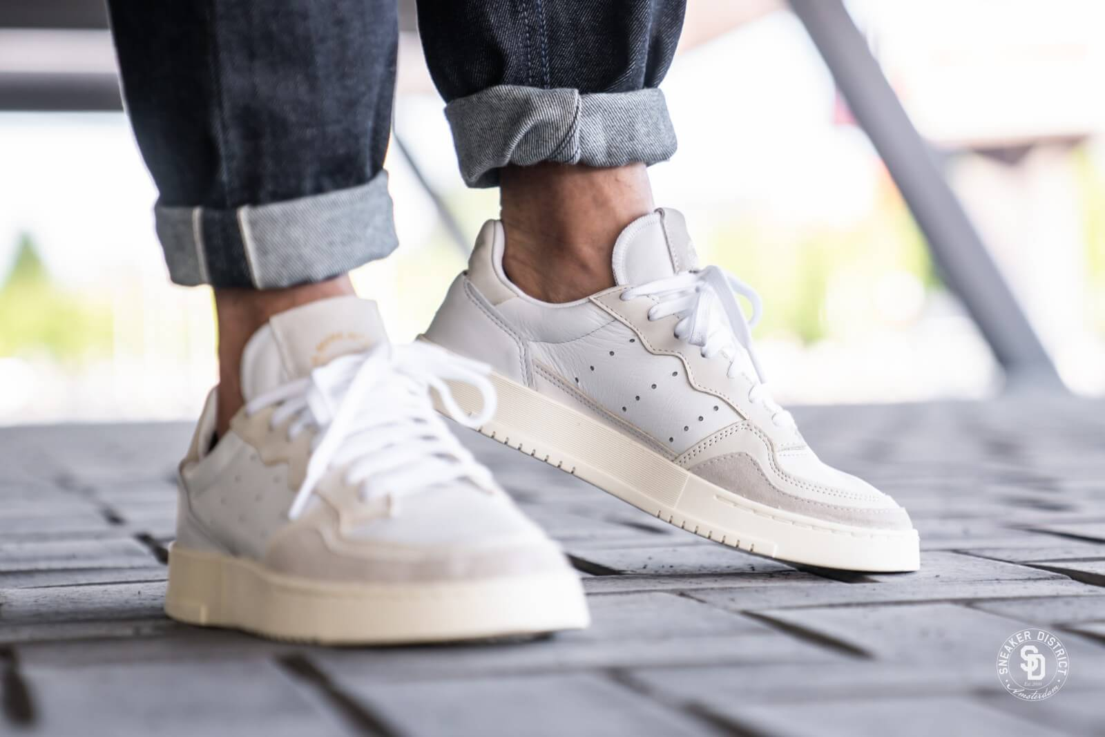 chaussures adidas femme supercourt