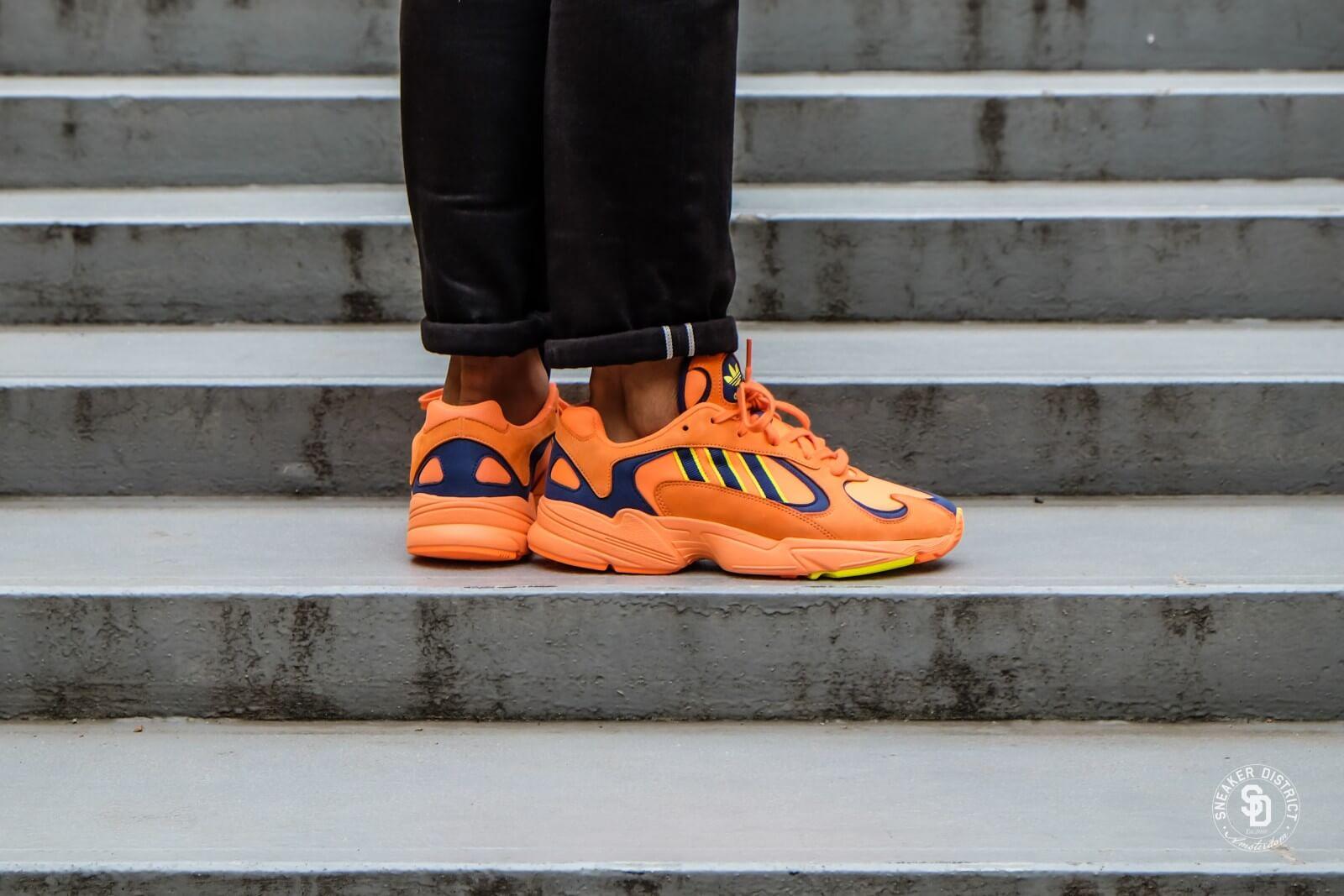 adidas yung 1 orange homme