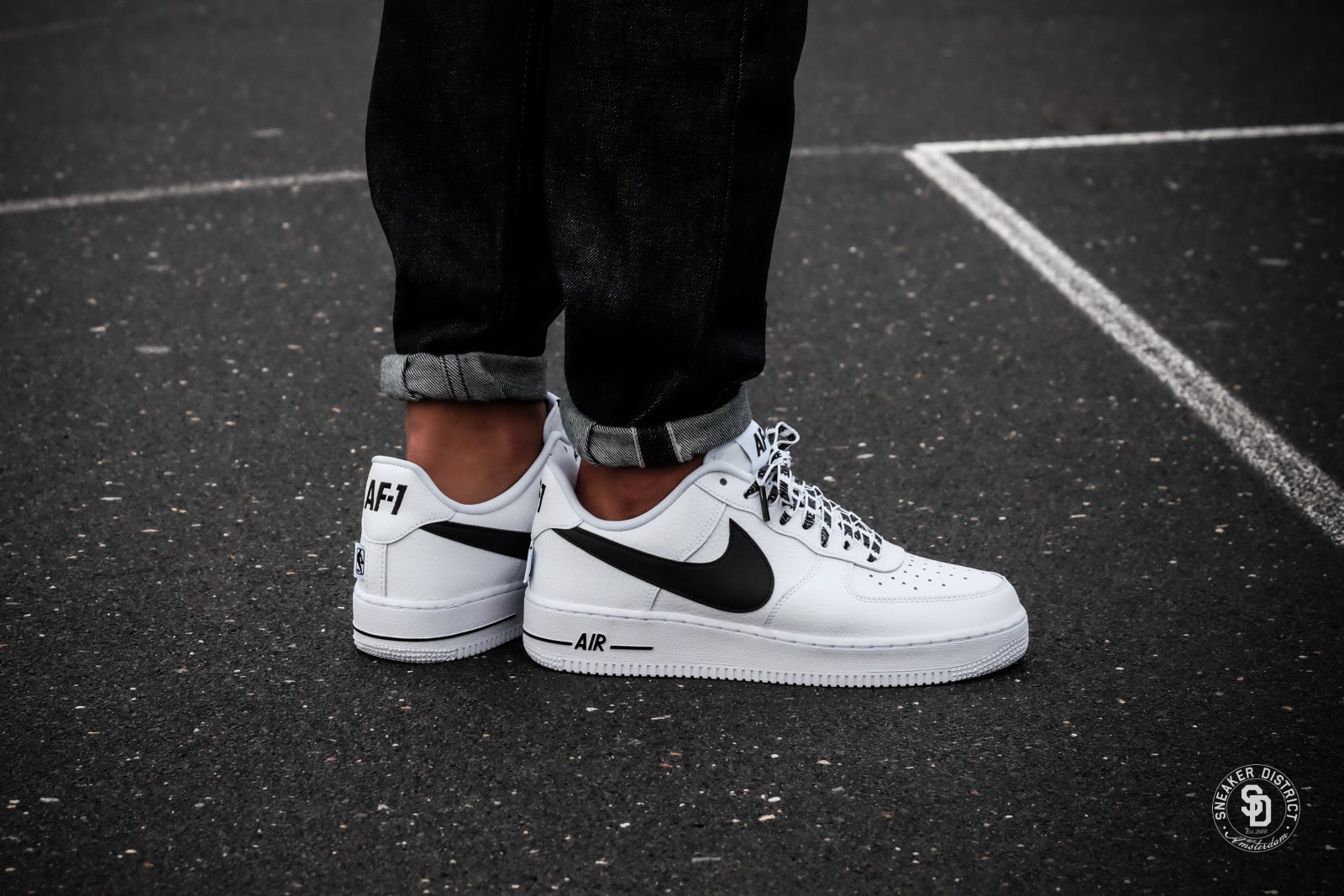 nike air force 1 '07 'nba' homme
