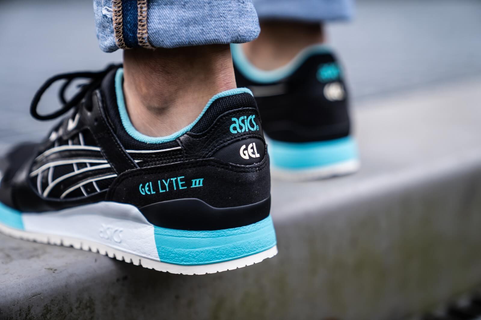 Asics GEL-LYTE III Black/White-Blue