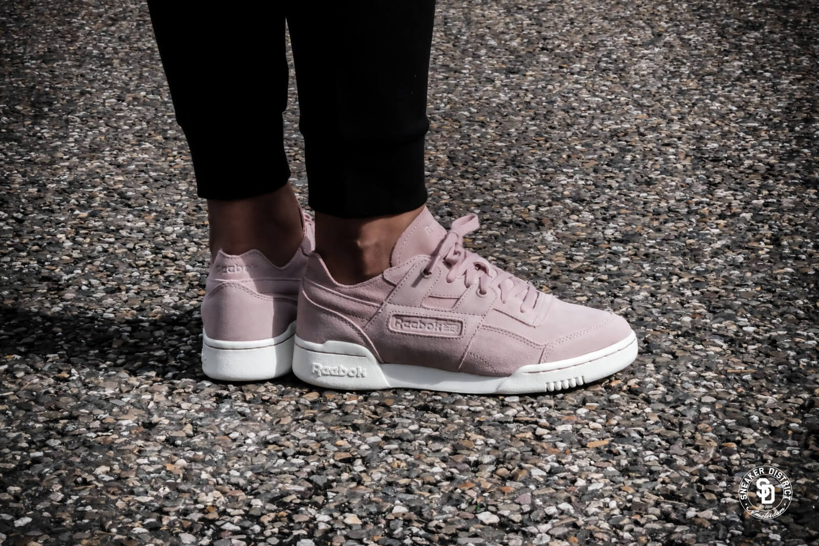 reebok classic workout lo plus fbt - sneaker low