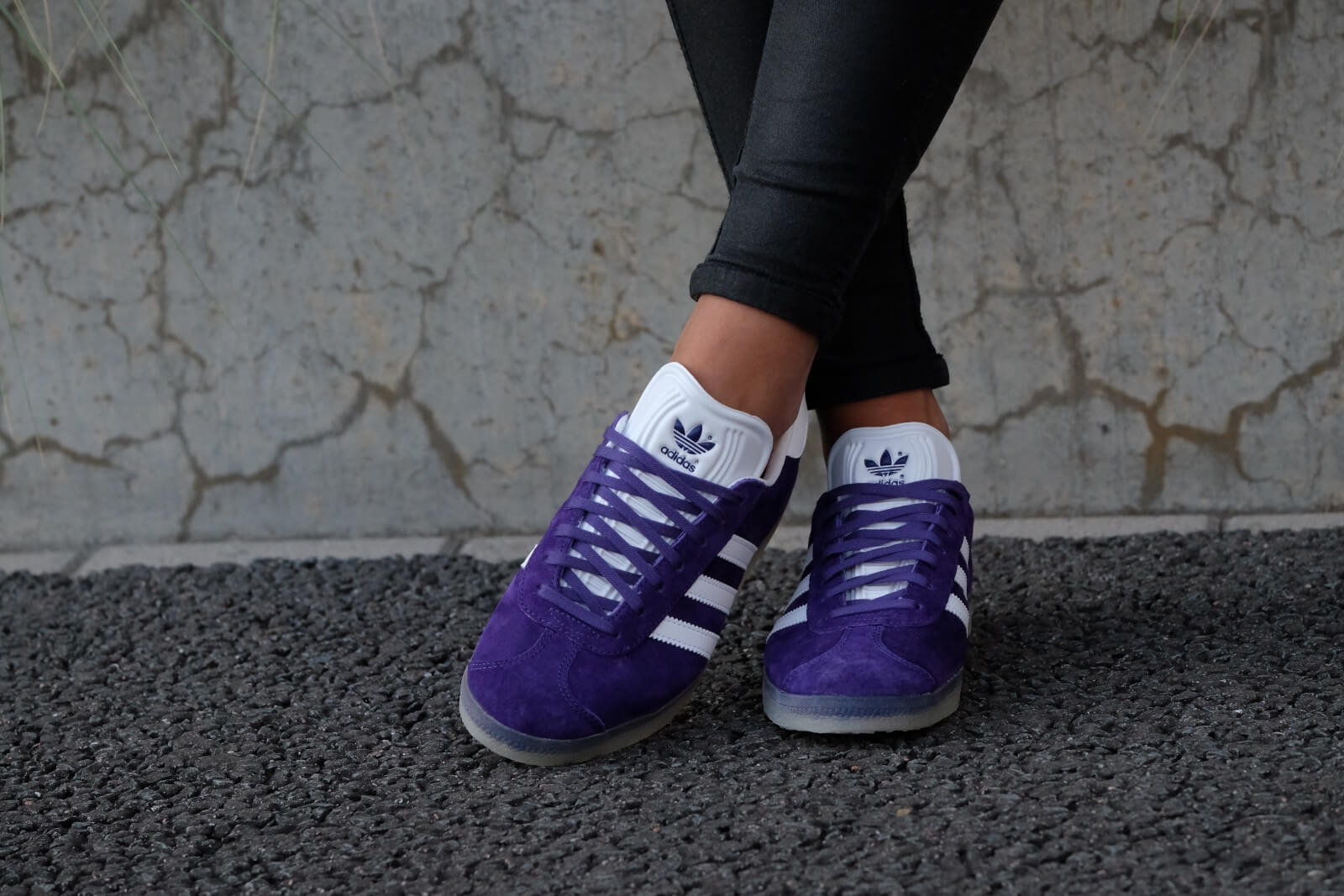Adidas Gazelle Unity Purple/ White