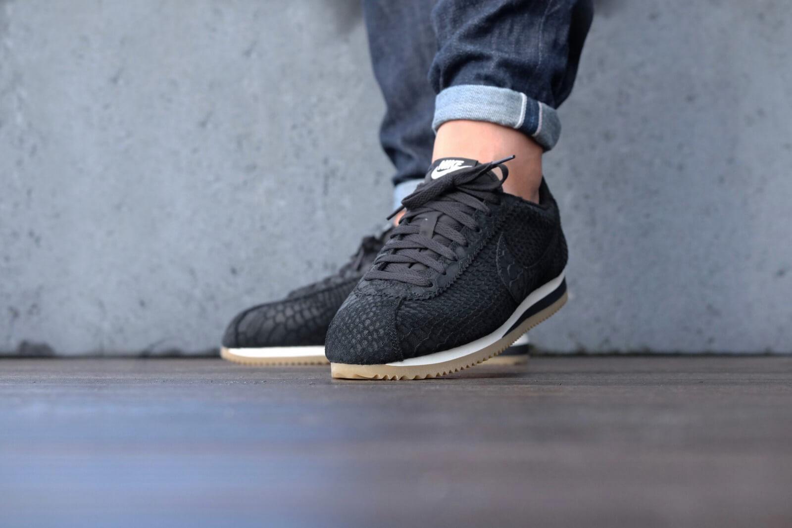 Nike Classic Cortez Leather Premium Black Gum