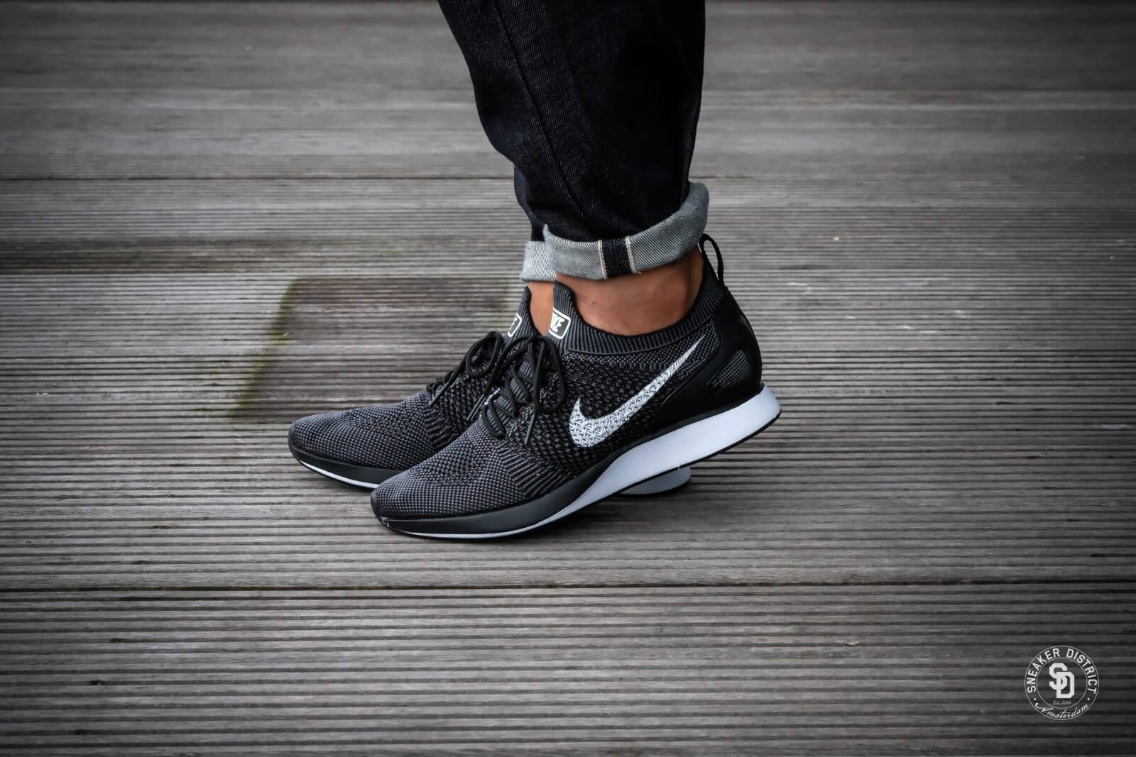 Nike Air Zoom Mariah Flyknit Racer Noir/Blanc Dark Gris 918264 001