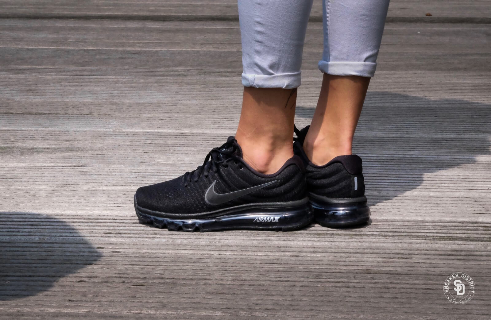 Nike Air Max 2017 GS BlackBlack 851622 004