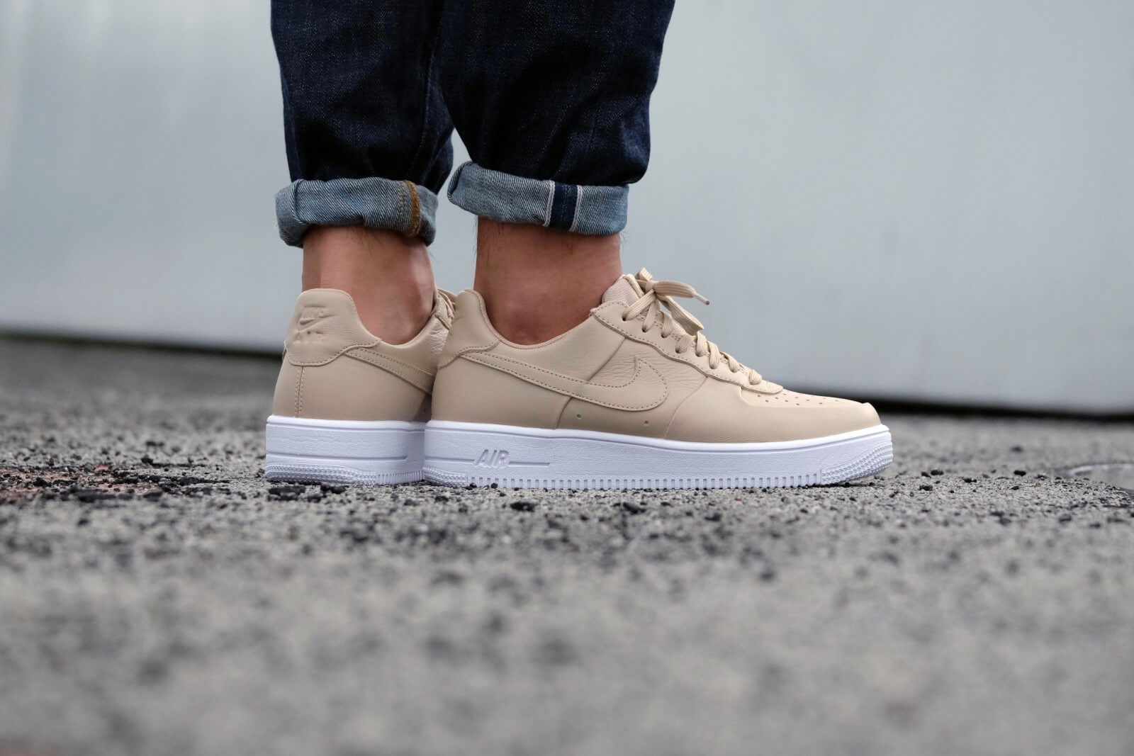 Air Nike Force Linen Ultraforce 1 Leather kn0P8wOX
