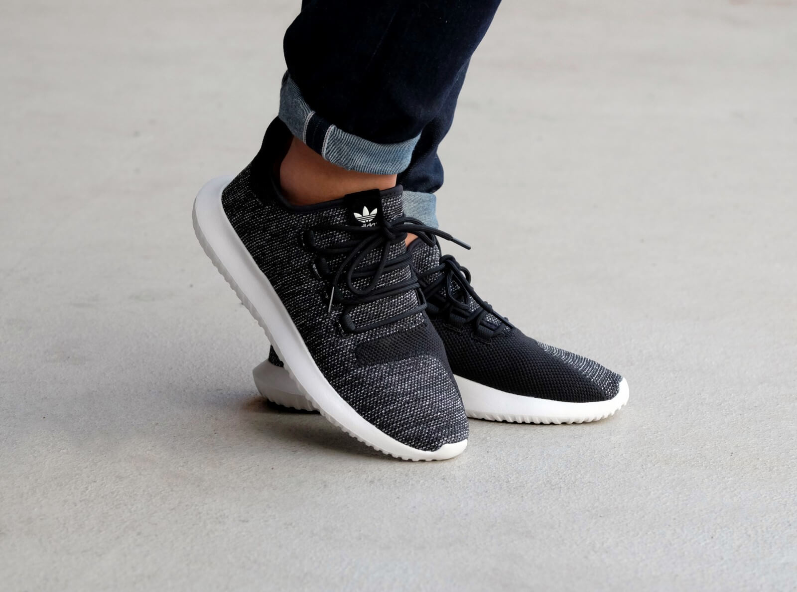 Adidas Tubular Shadow Knit Core Black Utility Black Vintage BB8826