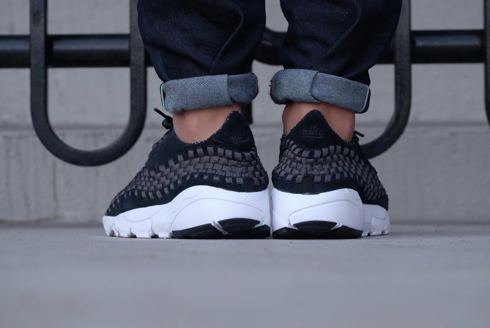 Nike Air Footscape Woven NM BlackBlack Anthracite White 875797 001