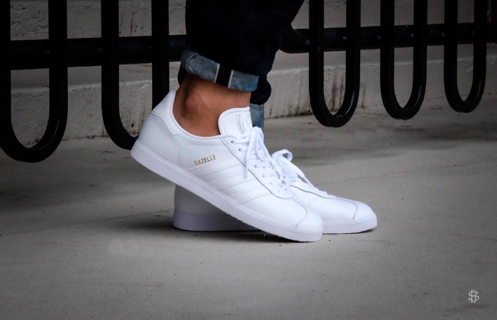 Adidas Gazelle Footwear White Gold Metallic BB5498