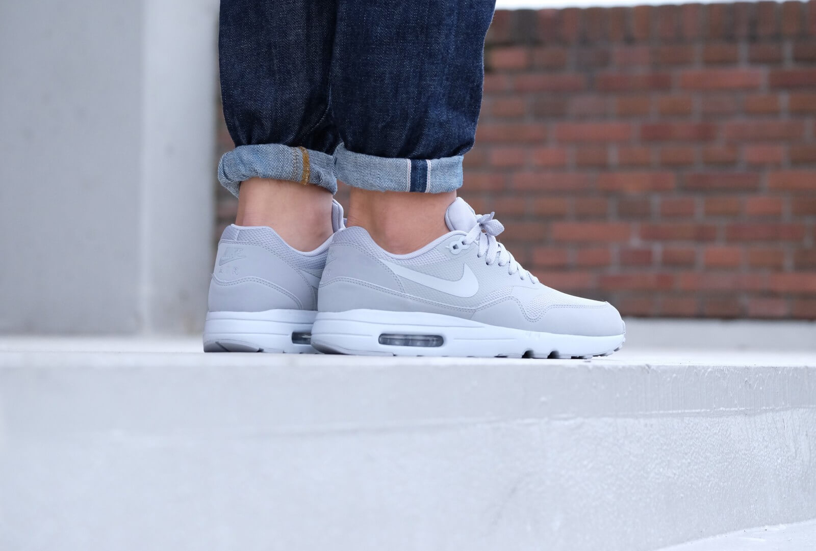 Nike Air Max 1 Ultra 2.0 Essential Wolf greywolf grey pure platinum 875679 001
