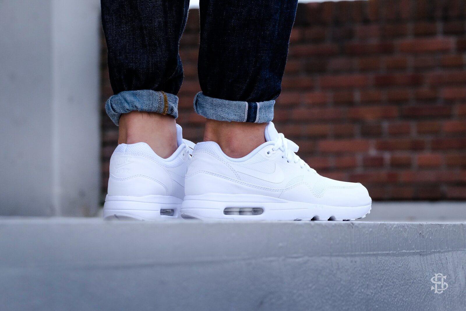 Nike Air Max 1 Ultra 2.0 Essential Whitewhite pure platinum 875679 100