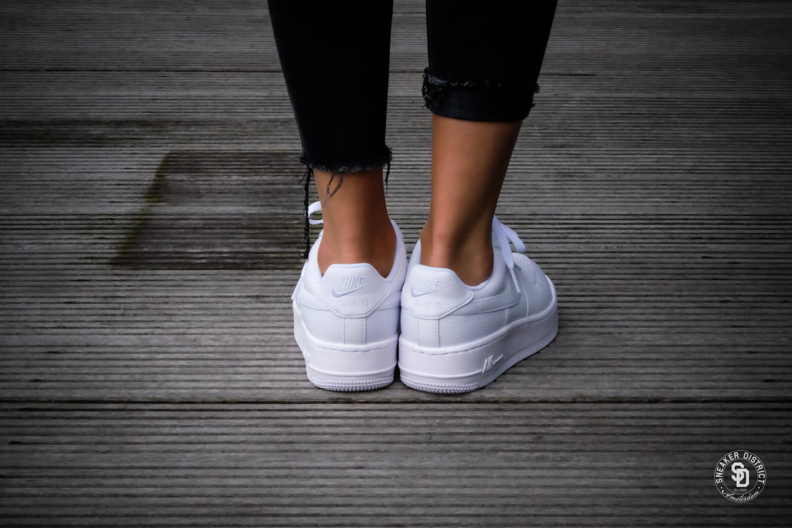 Nike Air Force 1 Upstep Triple Black - Sneaker Bar Detroit