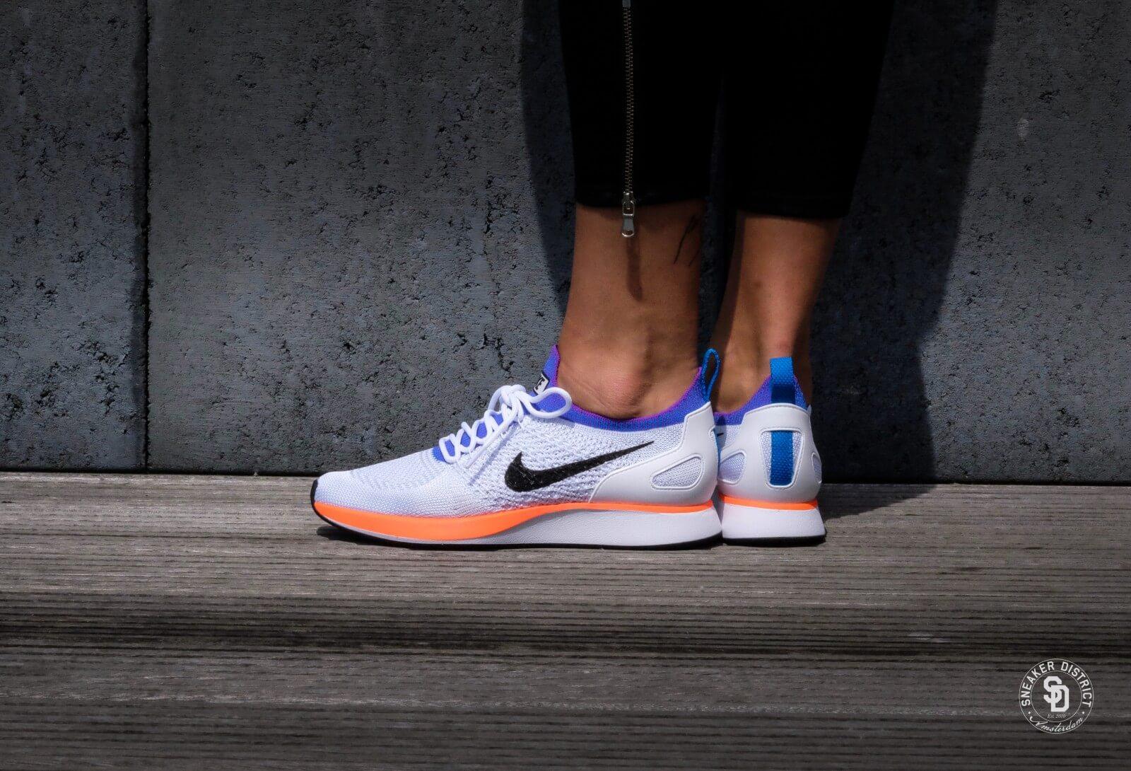 Nike Air Zoom Mariah Flyknit Racer Weiß hyper crimson pure