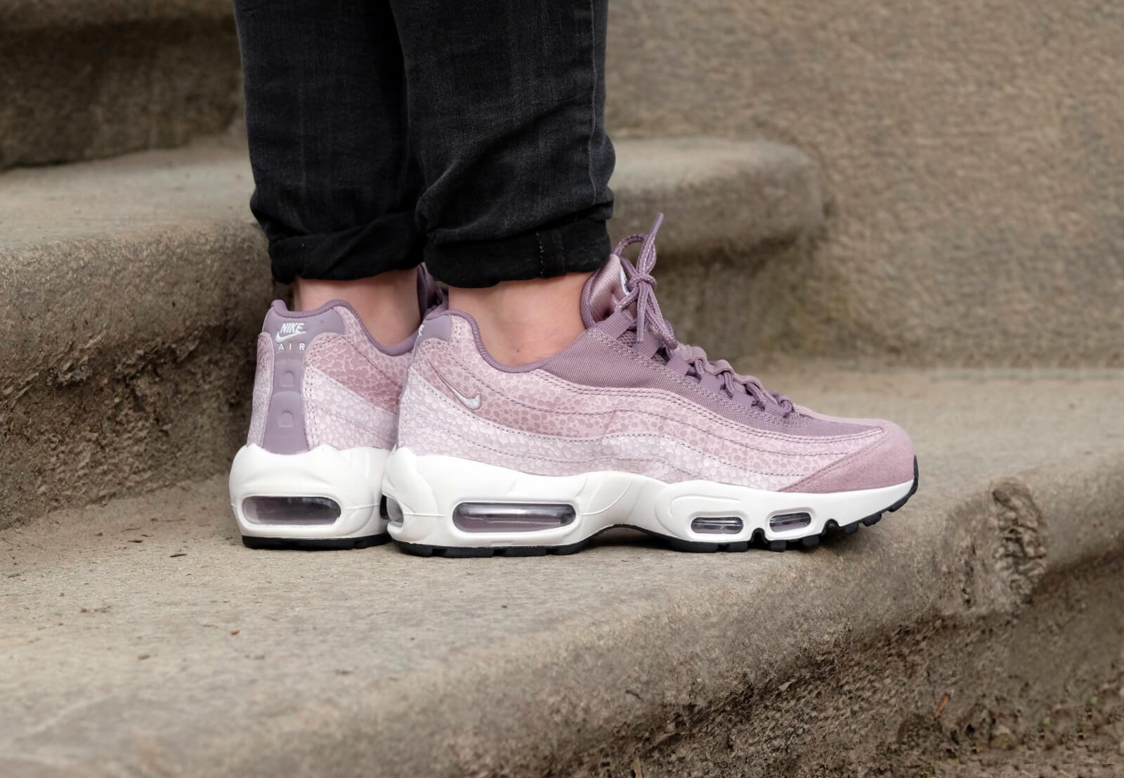 Nike Air Max 95 Premium Purple SMOKE (807443 502) Femmes