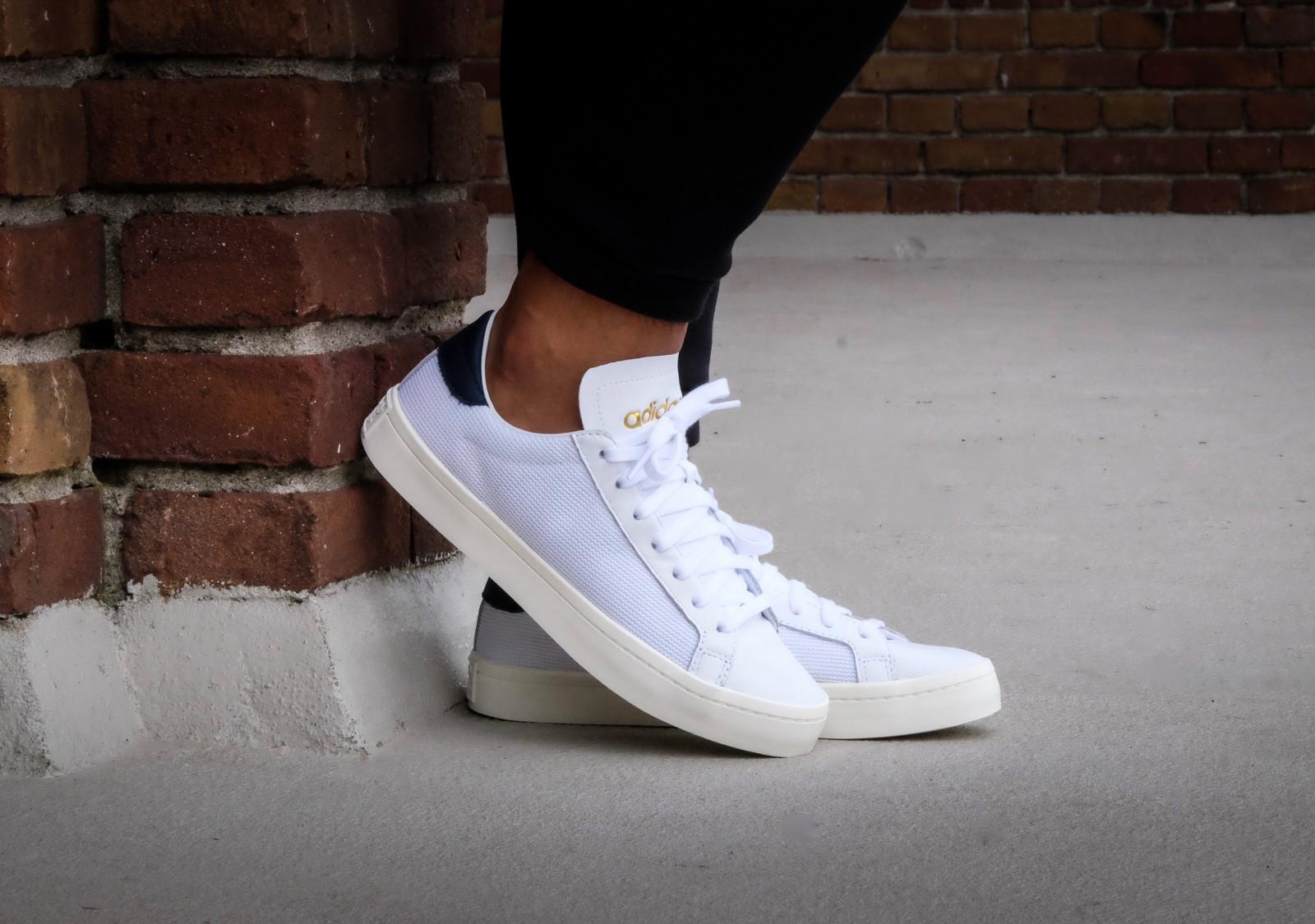 Court White Adidas Collegiate Navyamp; Vantage wPkn0O