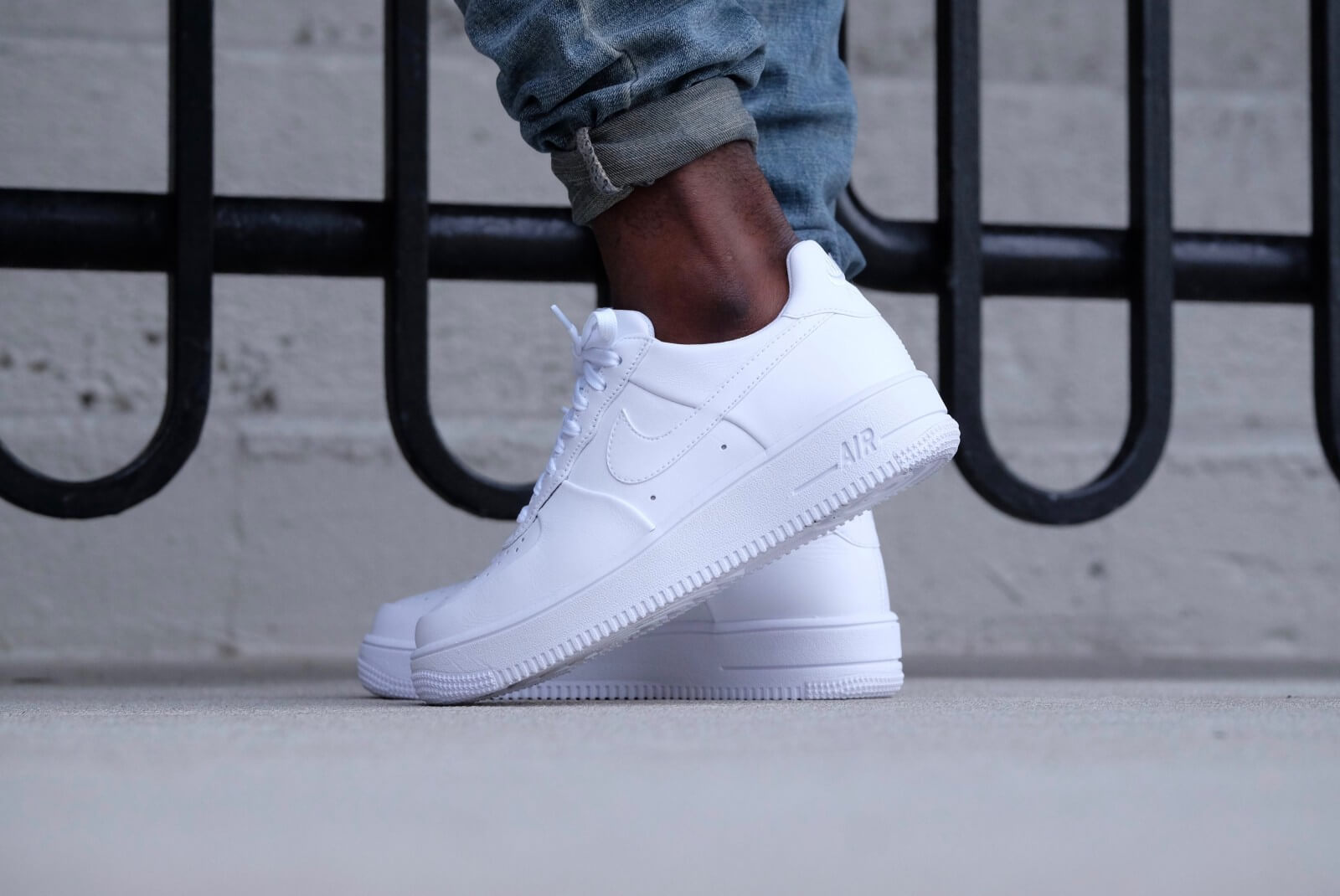 Nike Air Force 1 Ultraforce Leather White/white-white