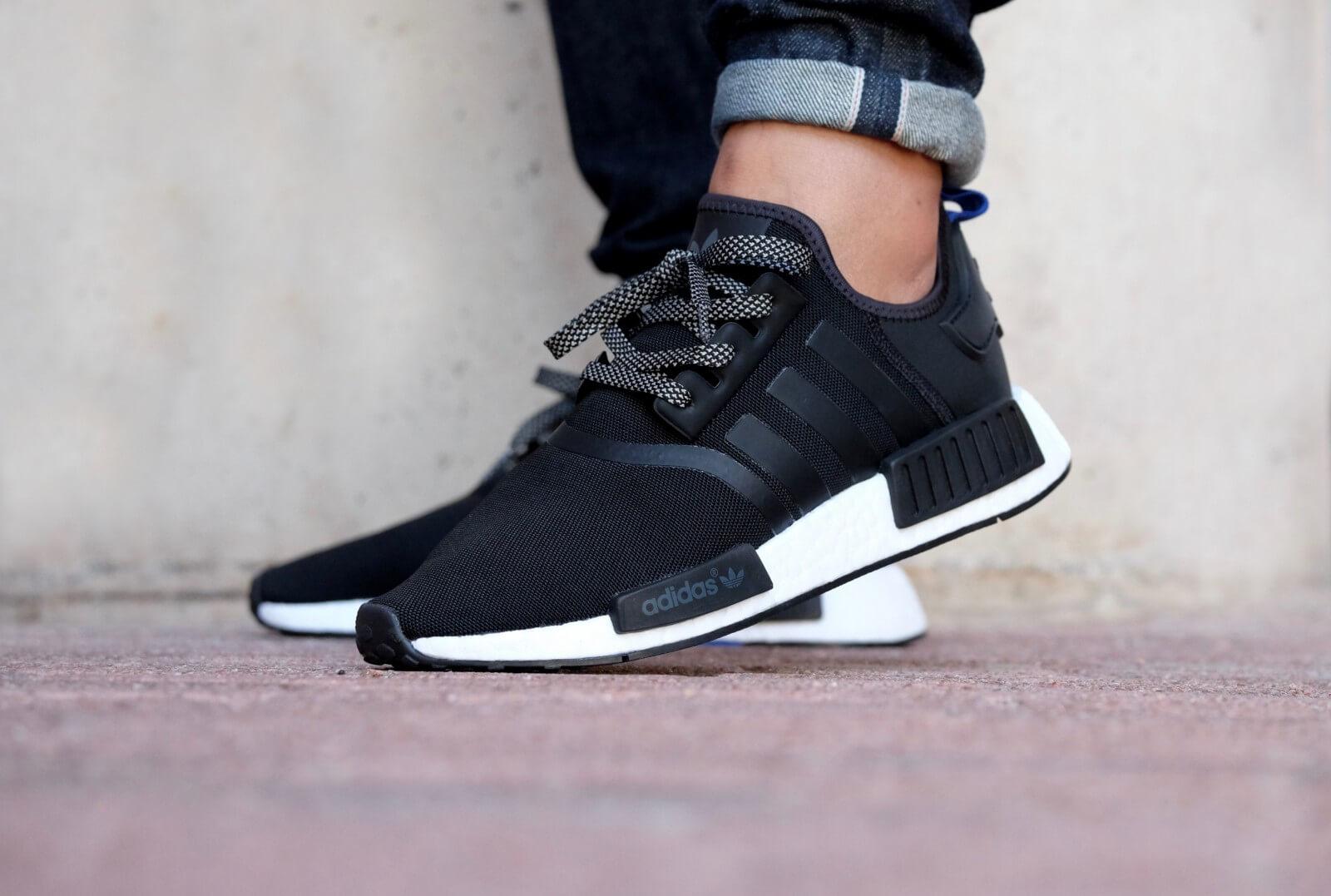 Adidas NMD R1 Black / Core Black / White
