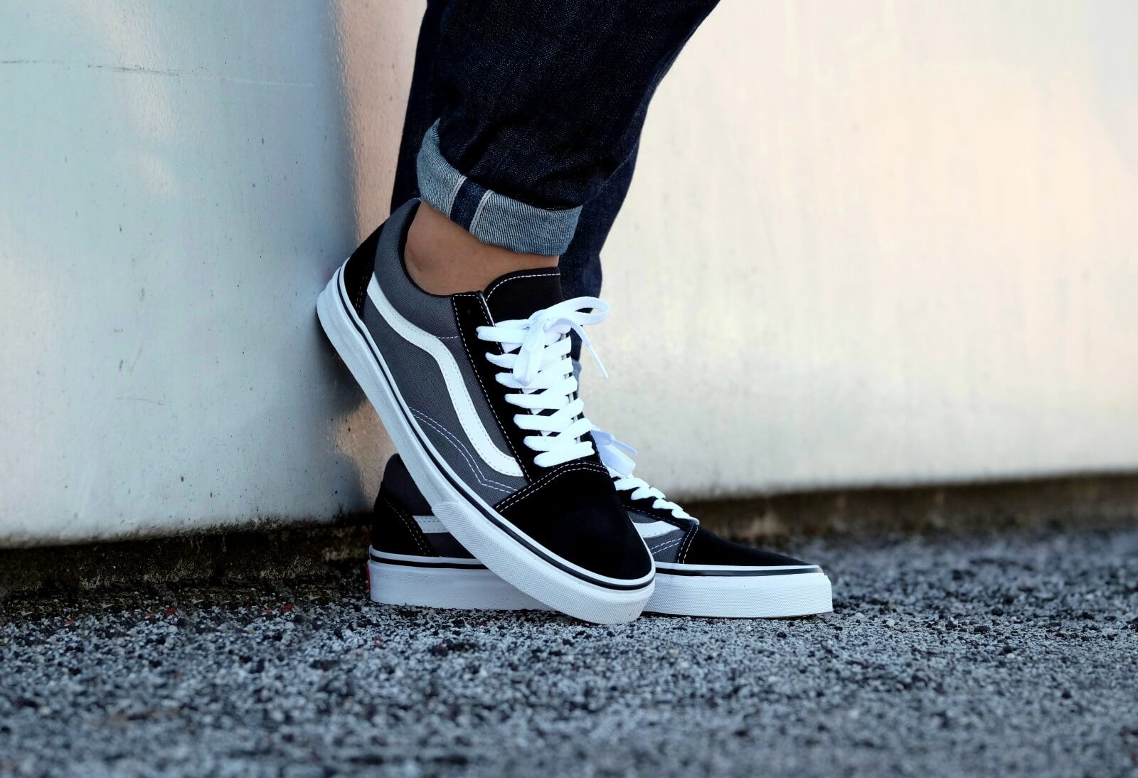 Vans Old Skool BlackPewter VN000KW6HR0
