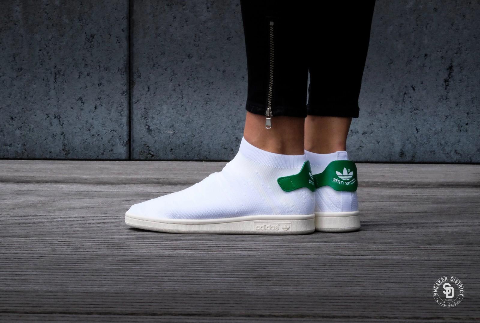 adidas stan smith sock femme